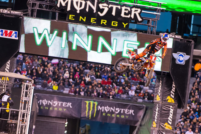 Ryan Dungey KTM 450 SX-F East Rutherford 2016