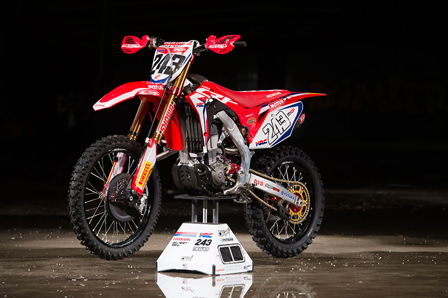 Twin Air continue winning relationship with Team HRC in MXGP - 2018 MX Bike Tim Gajser