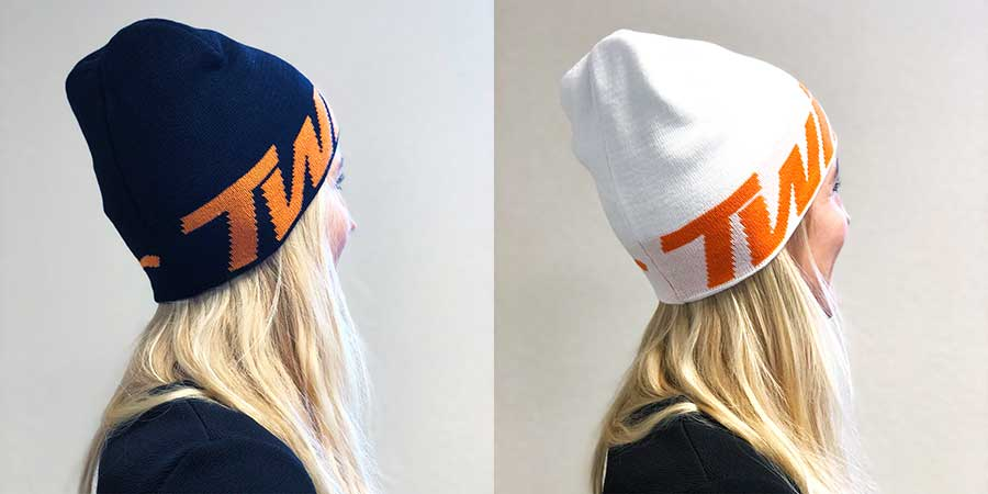 Newly designed Twin Air Beanies for 2019