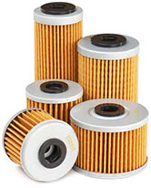Assorted models of Twin Air Oil Filters.